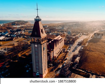 Władysławowo, a view from the air
