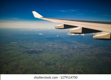 View from airplane at Thailand