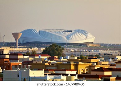 View of Al Janoub Stadium for FIFA 2022 at Al Wakrah in Doha, Qatar - 05/29/2019