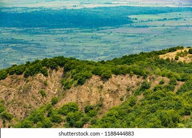 View of Alazani Valley, Georgia