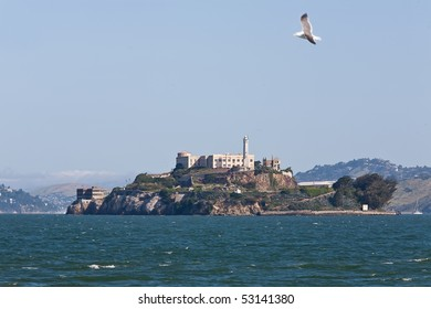 View of Alcartaz Island, San Francisco