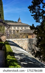 view of the Alhambra and Generalife, Granada, Spain