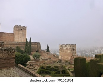 The view from the Alhambra palace