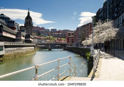 View Along the River - March 2018 - Bilbao, Spain