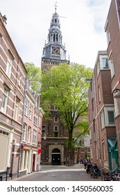 View in Amsterdam in the Netherlands with the Noorderkerk