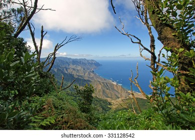 View from the Anaga Mountains, Tenerife