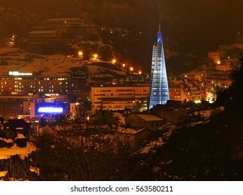 View of Andorra la Vella. Andorra