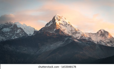 View of the Annapurna South