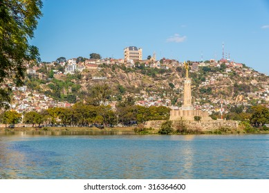View at the Antananarivo from Anosy lake - Madagascar