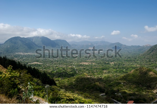 A view of the Anton Valley, a beautiful place to visit. It is located in Cocle, a central province of Panama.