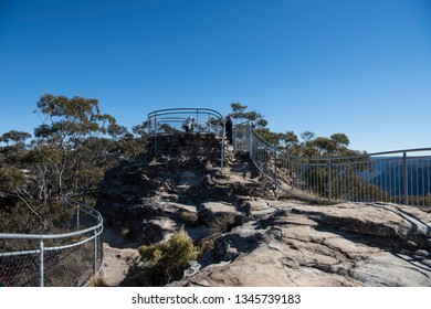 View from Anvil Rock Lookout, Blue Mountains