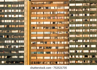 View of apartment buildings in Bogota, Colombia