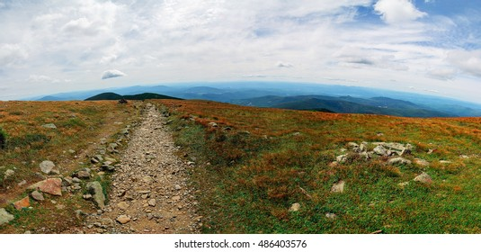 A View of the Appalachian Trail in New Hampshire