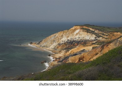 View of Aquinnah Cliffs, Martha's Vineyard, Massachusetts
