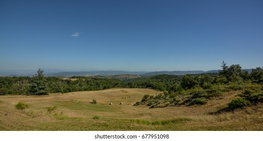 a view from the Ardeche to the alps