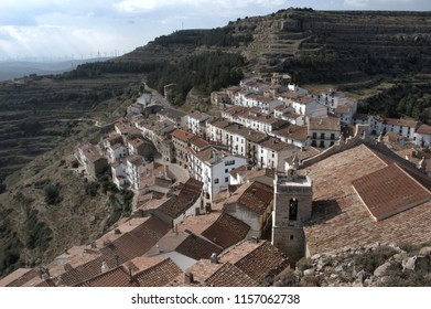 View of Ares del Maestre in Spain