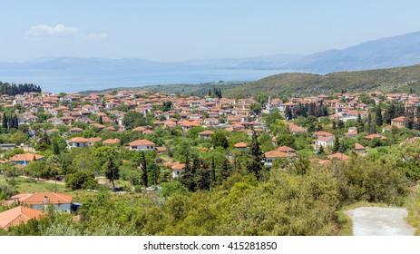 View of Argalasti village, Pelio, Greece