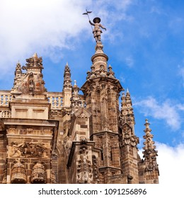 View of the Astorga cathedral tower