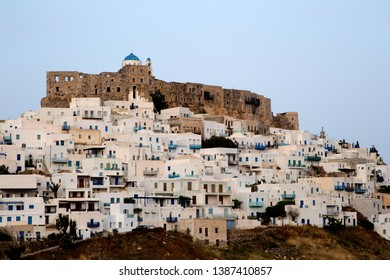 A view of Astypalaia island and castle.