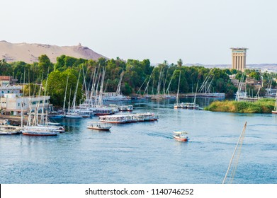View from Aswan, Egypt.