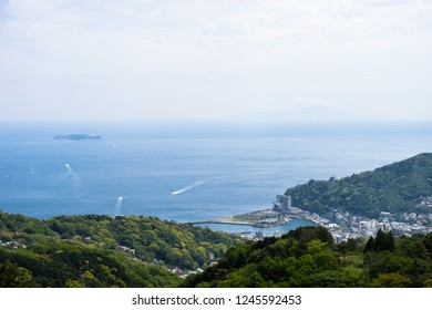 View of Atami seen from Himeinosawa Park
