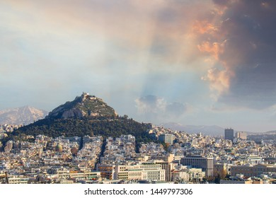 View of Athens, Lycabettus, Licabetto