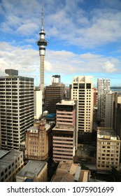 View of Auckland city in north island, New Zealand
