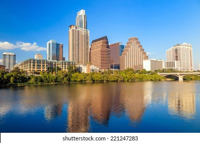 view of Austin, Texas downtown skyline