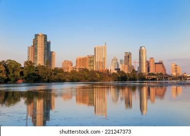 view of Austin, Texas downtown skyline