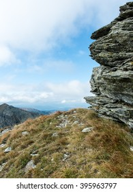 View of autumn nature in Tatra Mountains in Slovakia