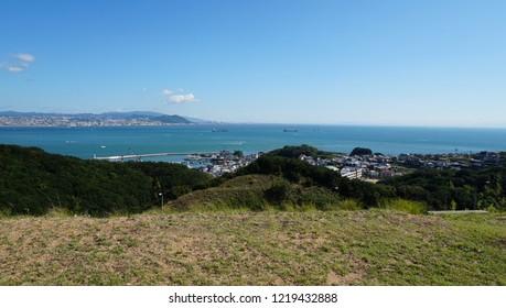The view from Awaji Island