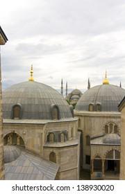 view from Aya Sofya Istanbul, Turkey