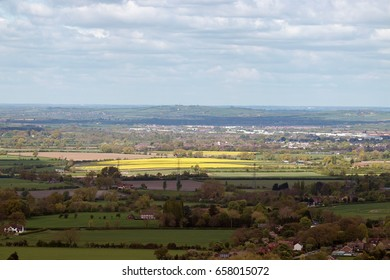 View of Aylesbury Vale from Coombe Hill