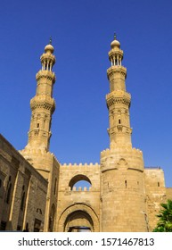 View of the Bab Zuweila in Cairo, Egypt