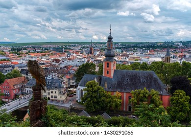 View of Bad Kreuznach, Germany