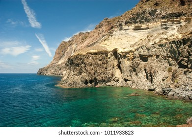 View of Balata dei Turchi in Pantelleria island, Sicily