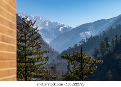 View From Balcony, Kasol, Himachal Pradesh