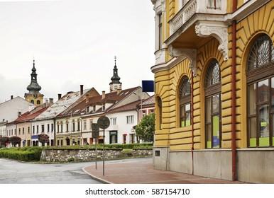 View of Banska Bystrica. Slovakia