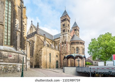 View at the Basilica of Saint Servatius in Maastricht - Netherlands