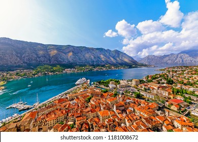 View of the bay. Kotor