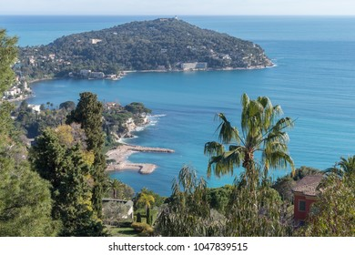 A view of the bay at Saint-Jean-Cap-Ferrat, Villefranche-sur-Mer town, French Riviera