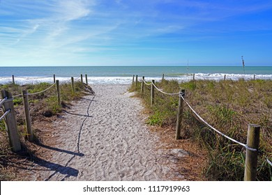 View of the beach in Captiva Island, Florida