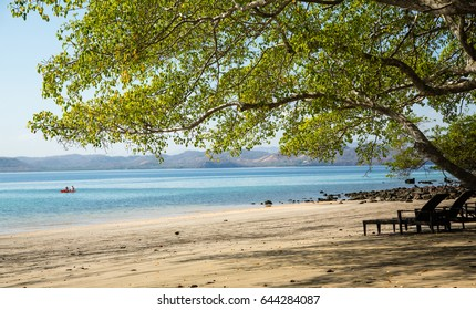View from the Beach in Costa Rica along the Papagayo Peninsula