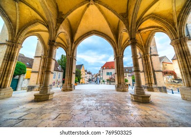 View of Beaune, Burgundy, France