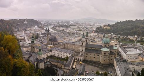 View of beautiful Salzsburg