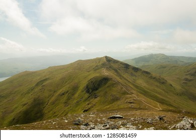 A View of Beinn Ghlas from Ben Lawers