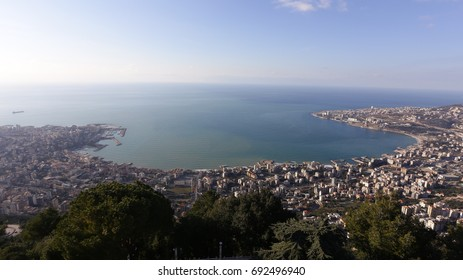 The view of Beirut from Mount Lebanon