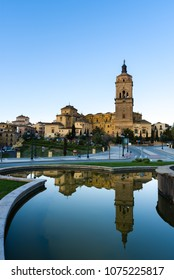 View at the Bell tower of Cathedral in Guadix - Spain