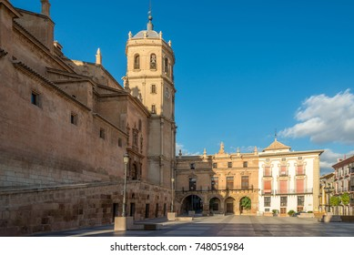 View at the Bell tower of Cathedral San Patrick in Lorca - Spain