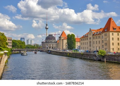 View of the Berlin from the river